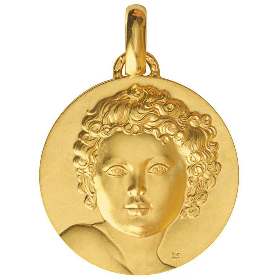 Photo de Médaille L'Enfant- Roi - Or jaune 18ct