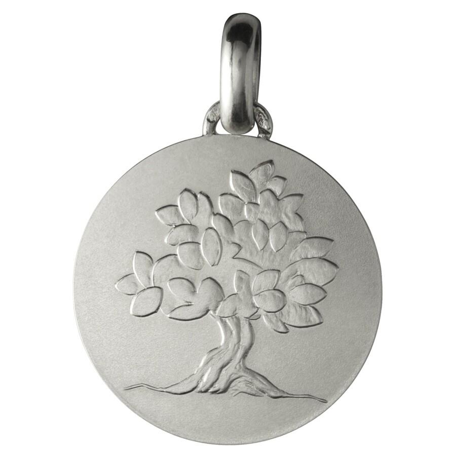 """Photo de Médaille """"Je grandirai comme un arbre"""" - Argent massif"""