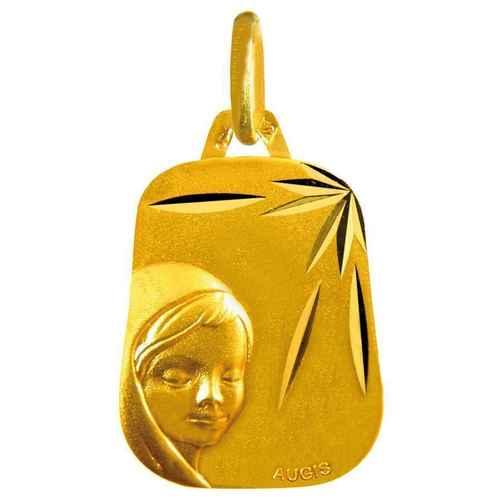 Photo de Médaille Vierge étoilée - Or jaune 18ct