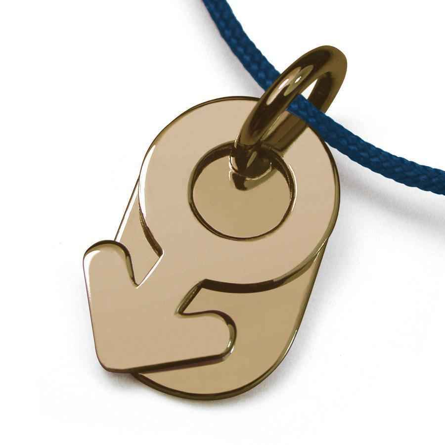 Photo de Pendentif Sex Symbol Boy - Or jaune 18ct