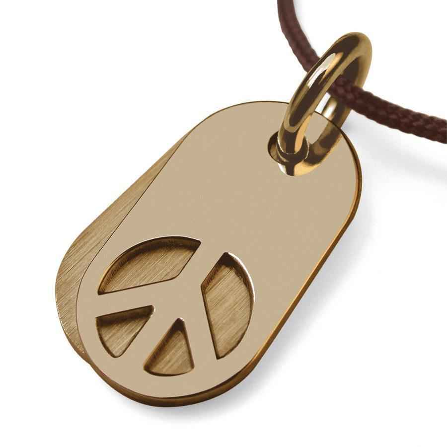 Photo de Pendentif Woodstock - Or jaune 18ct
