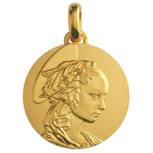 Photo de Médaille Madone de Filippo Lippi - Or jaune 18ct