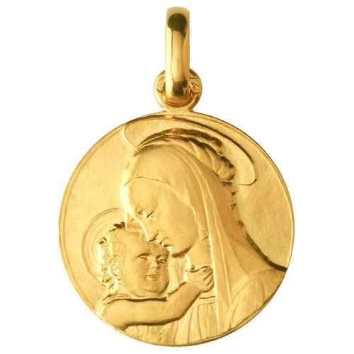 Photo de Médaille Vierge de Botticelli - Or jaune 18 ct