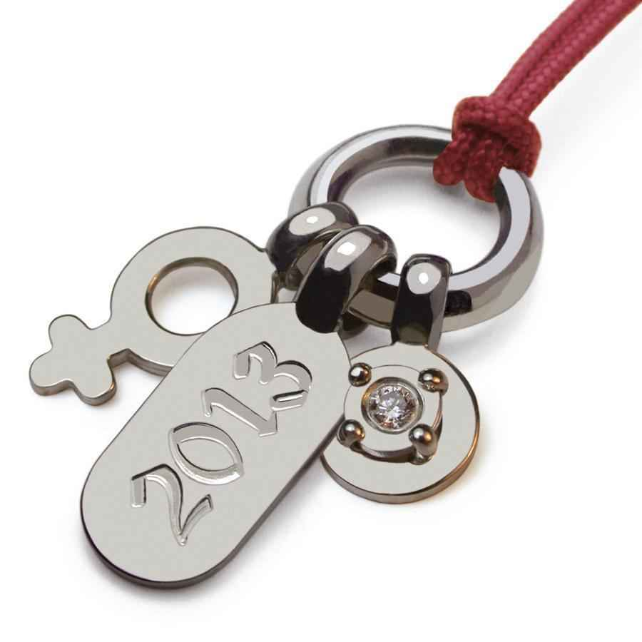 Photo de Pendentif Pogo - Or blanc 18ct