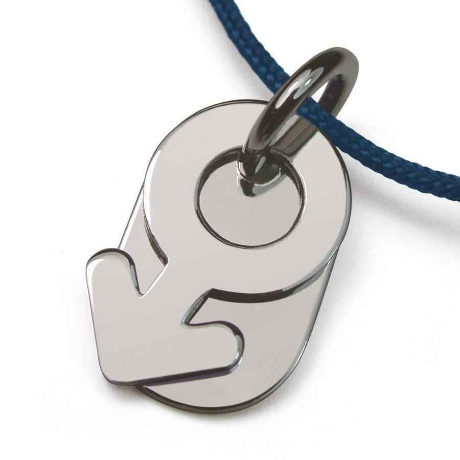 Photo de Pendentif Sex Symbol Boy - Or blanc 18ct