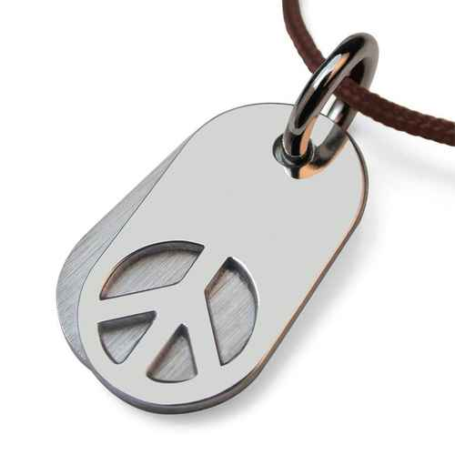Photo de Pendentif Woodstock - Or blanc 18ct