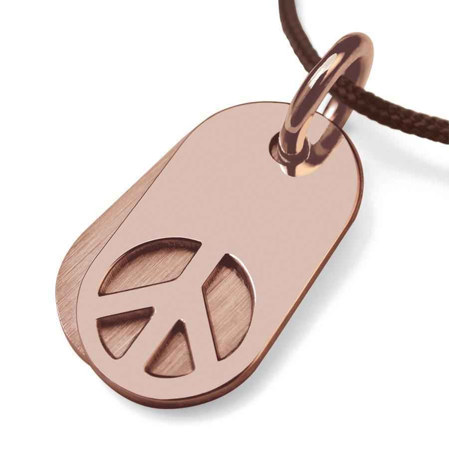 Photo de Pendentif Woodstock - Or rose 18ct