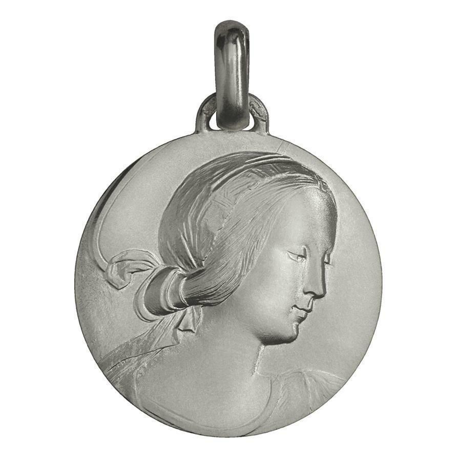 Photo de Médaille Vierge de Milan - Argent massif