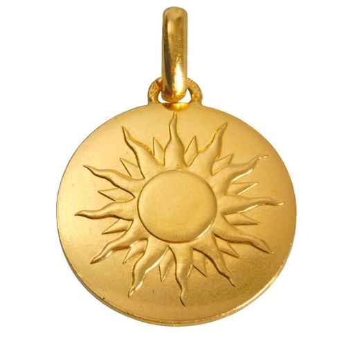 "Photo de Médaille ""Je brillerai comme un soleil"" - Or jaune 18ct"