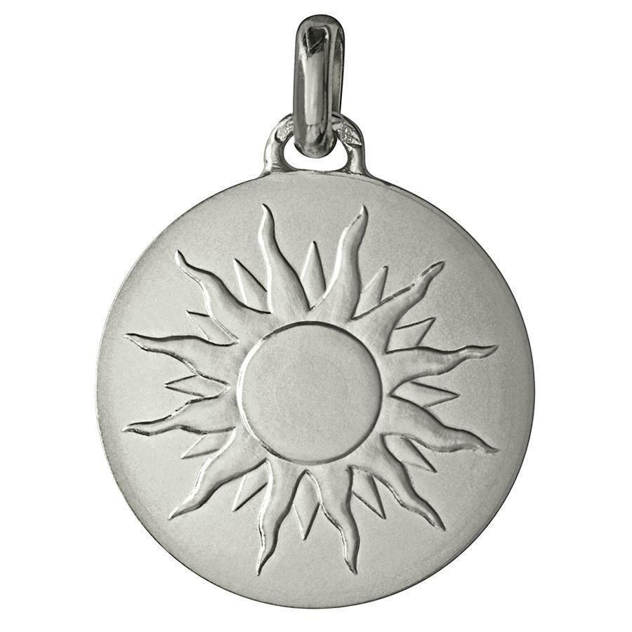 """Photo de Médaille """"Je brillerai comme un soleil"""" - Argent massif"""