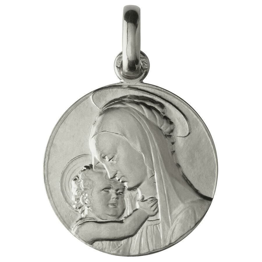 Photo de Médaille Vierge de Botticelli - Argent massif