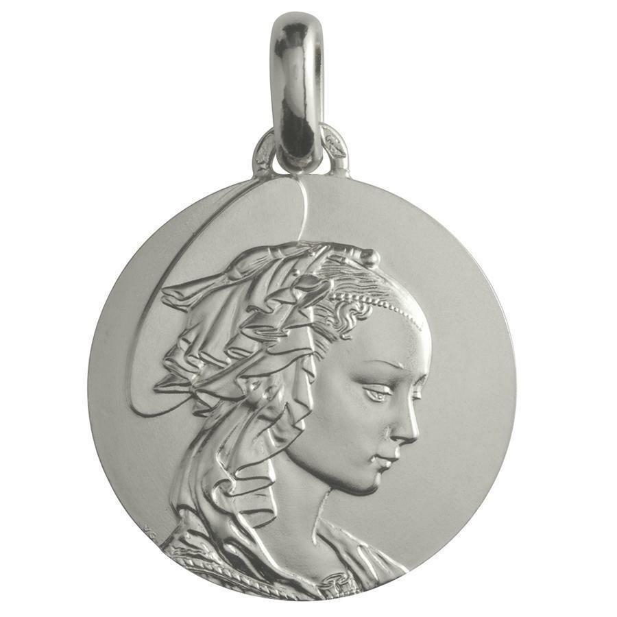 Photo de Médaille Madone de Filippo Lippi - Argent massif