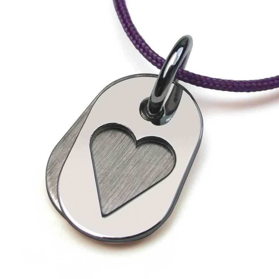 Photo de Pendentif Corazon - Or blanc 18ct