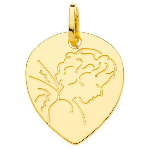 Photo de Médaille Ange - Or jaune 9ct