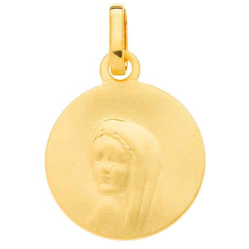 Photo de Médaille Vierge - Or jaune 9ct