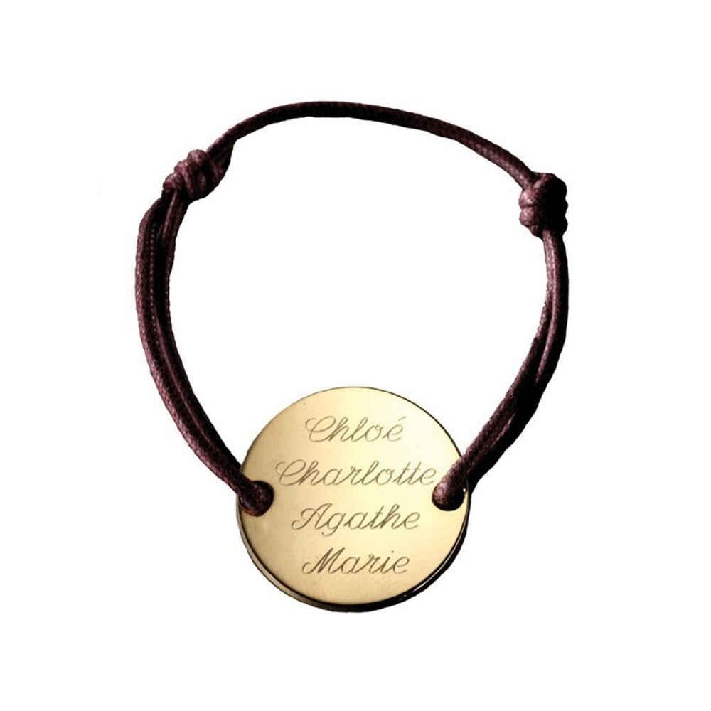 Photo de Bracelet Family - plaqué or