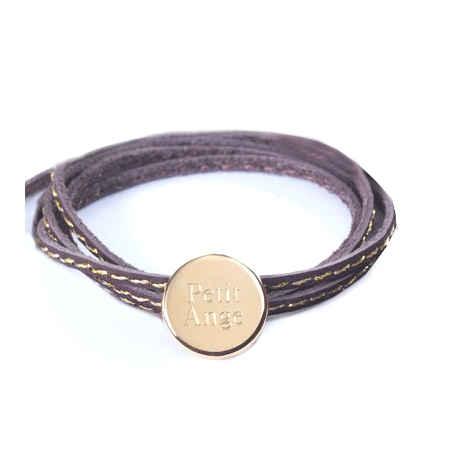 Photo de Bracelet Amazone Médaille - plaqué or