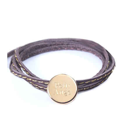 Photo de Bracelet Amazone Médaille - plaqué or