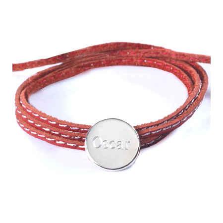 Photo de Bracelet Amazone Médaille - Argent massif
