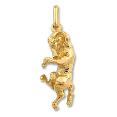 Photo de Pendentif signe astrologique - Or jaune 9ct