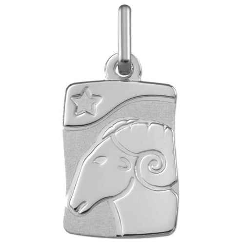 Photo de Pendentif signe astrologique - Or blanc 9ct
