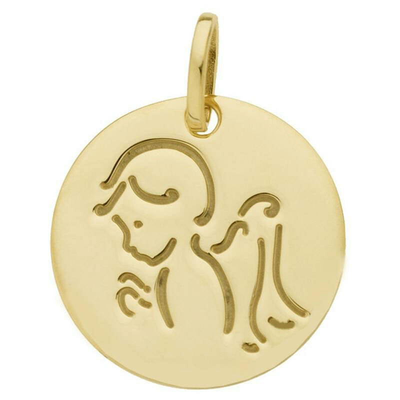Photo de Médaille Ange - Or jaune 18ct