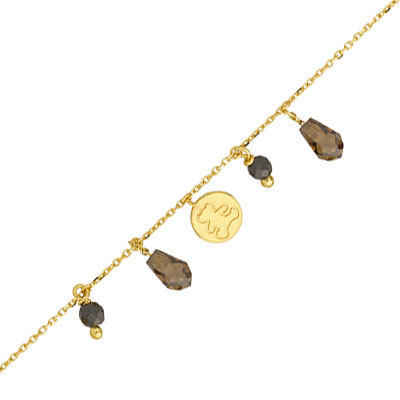 Photo de Bracelet pampilles LuluCastagnette - Or jaune 9ct