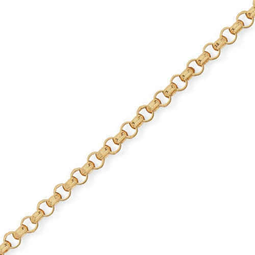 Photo de Bracelet maille jaseron - Or jaune 18ct