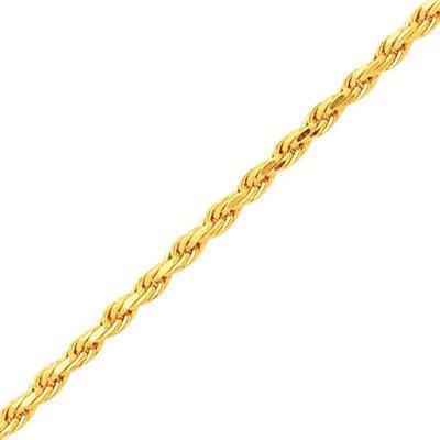 Photo de Bracelet maille corde - Or jaune 18ct