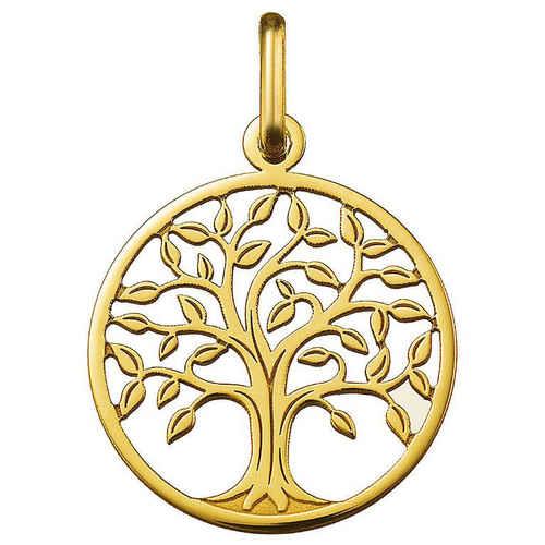 Photo de Médaille Arbre de vie majestueux ajourée - Or jaune 18ct