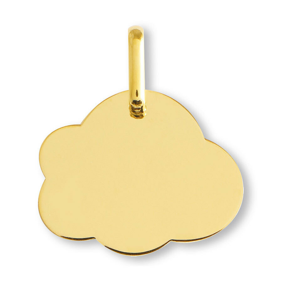 Photo de Médaille Nuage - Or jaune 9ct