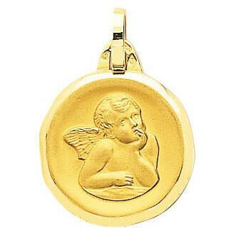 Photo de Médaille Ange - Or jaune 18ct