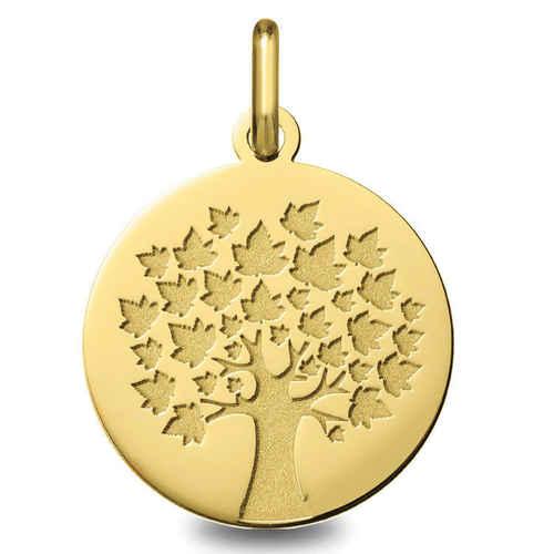 Photo de Médaille Arbre de vie - saison été - Or jaune 9ct