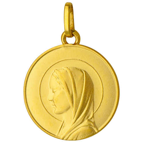 Photo de Médaille Sainte Vierge - Or jaune 18ct