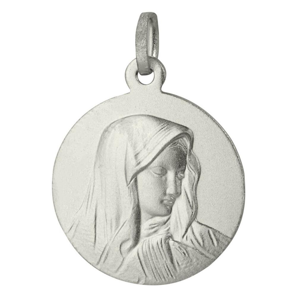 Photo de Médaille Vierge au voile - Argent massif