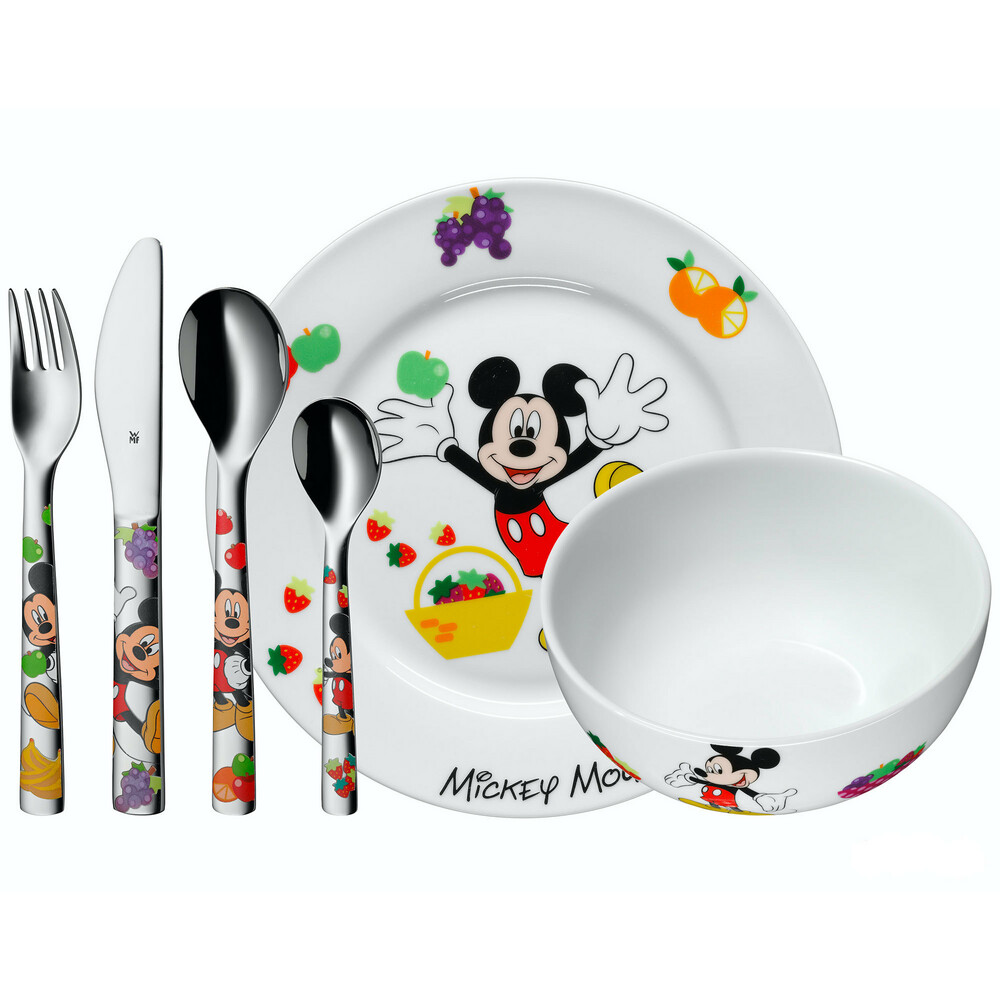 Photo de Set de table enfant Mickey Disney
