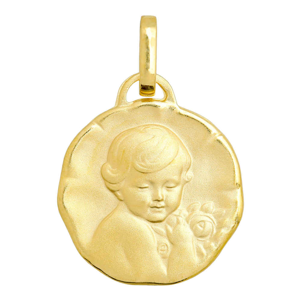 Photo de Médaille Chérubin - Or jaune 18ct