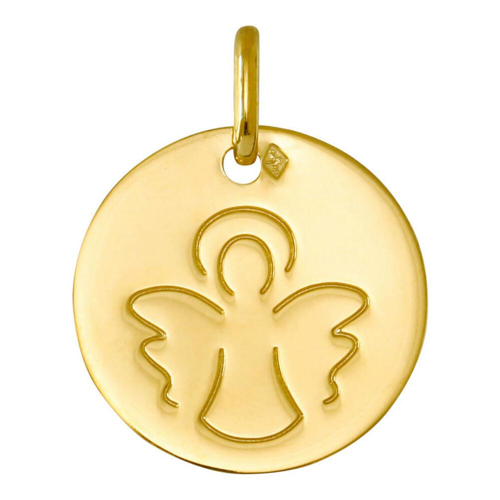 Photo de Médaille Ange ailé - Or jaune 18ct