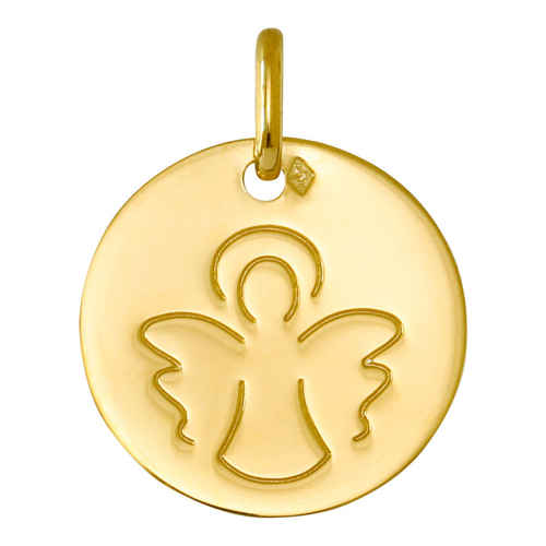 Photo de Médaille Ange ailé - Or jaune 18ct