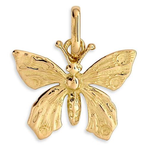 Photo de Pendentif papillons - Or jaune 18ct
