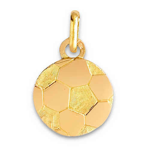 Photo de Pendentif ballon de foot - Or jaune 9ct