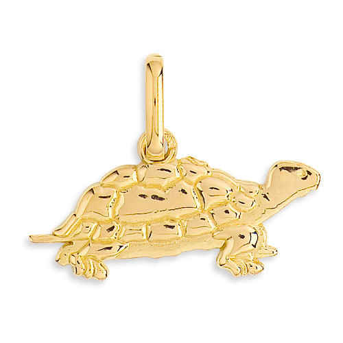 Photo de Pendentif tortue - Or jaune 18ct