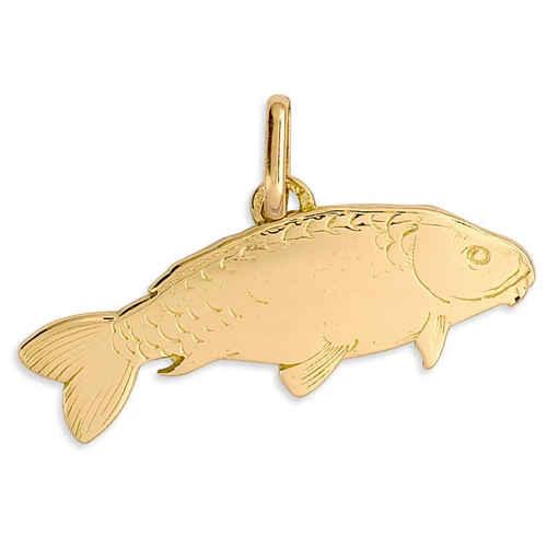 Photo de Pendentif poisson - Or jaune 18ct