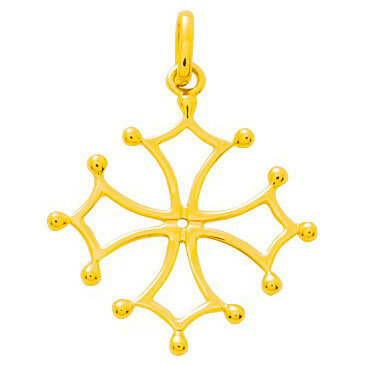 Photo de Croix Occitane - Or jaune 18ct