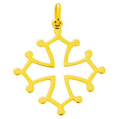 Photo de Croix Occitane - Or jaune 9ct