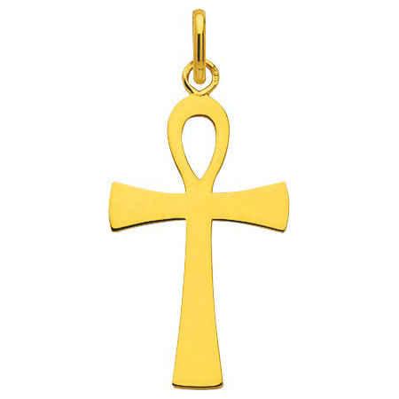 Photo de Croix égyptienne - Or jaune 9ct