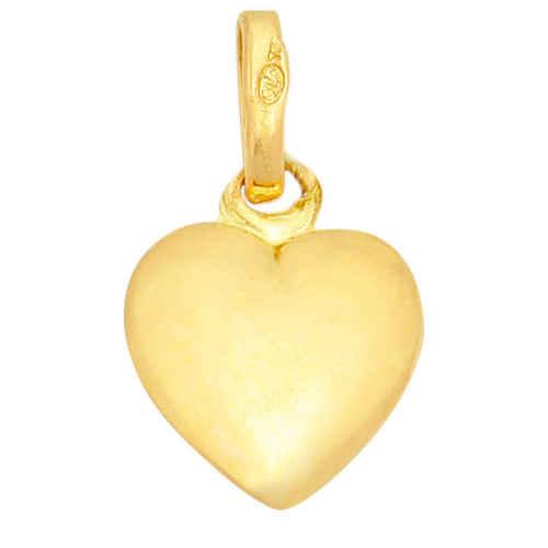 Photo de Pendentif petit coeur - Or jaune 18ct