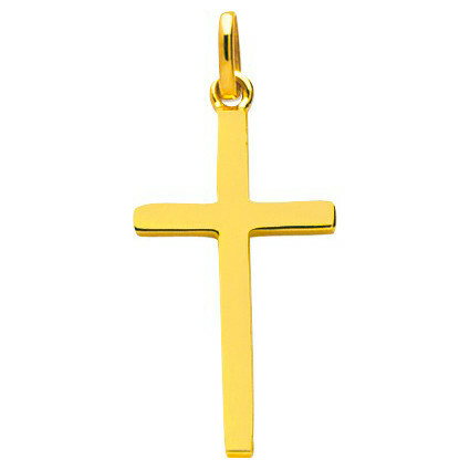 Photo de Croix - Or jaune 9ct