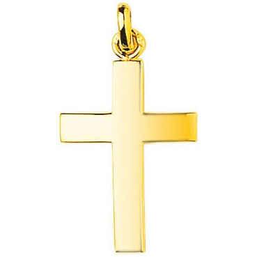 Photo de Croix personnalisée - Or jaune 9ct