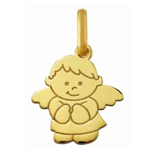 Photo de Pendentif ange - Or jaune 9ct